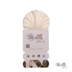 دستمال جیبی سری کلاسیک (سفید مات)