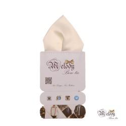 دستمال جیبی سری تربلی (سفید مات)