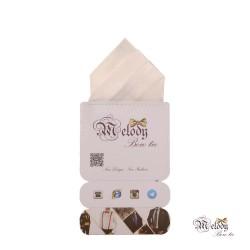 دستمال جیبی سری مونتانا (سفید مات)