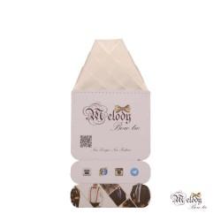 دستمال جیبی سری ولکانو (سفید مات)