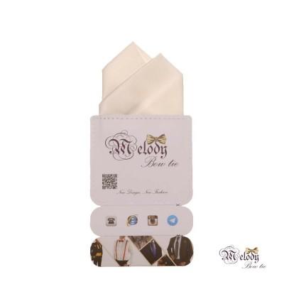 دستمال جیبی سری آنیدا (سفید مات)