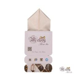 دستمال جیبی سری پیرامید (شیری براق)