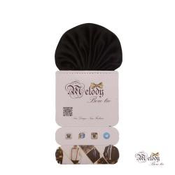 دستمال جیبی سری کلاسیک (سیاه براق)