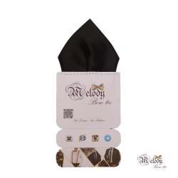دستمال جیبی سری تربلی (سیاه براق)