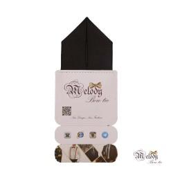 دستمال جیبی سری پیرامید (سیاه براق)