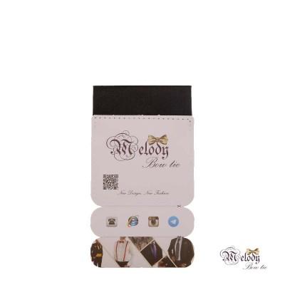 دستمال جیبی سری سنسیلو (سیاه براق)