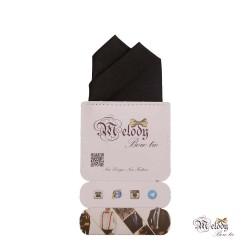 دستمال جیبی سری آنیدا (سیاه براق)