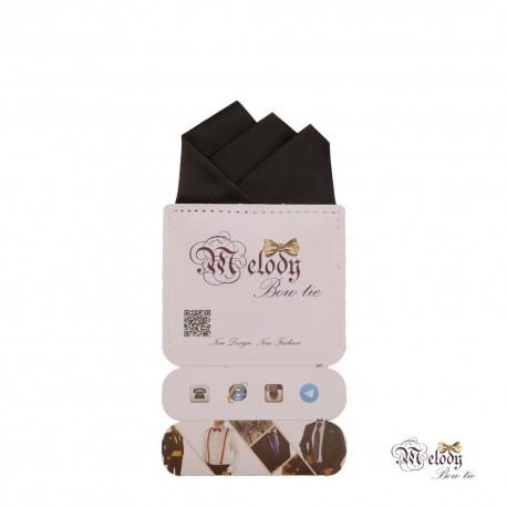 دستمال جیبی سری رنگین کمان (سیاه مات)