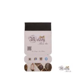دستمال جیبی سری سنسیلو (سیاه مات)