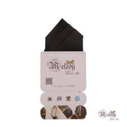 دستمال جیبی سری مونتانا (سیاه مات)