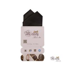 دستمال جیبی سری آنیدا (سیاه مات)