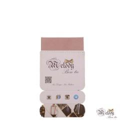 دستمال جیبی سری سنسیلو (صورتی چرک مات)
