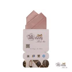 دستمال جیبی سری آنیدا (صورتی چرک مات)