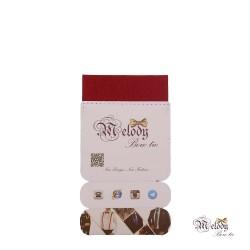 دستمال جیبی سری سنسیلو (عنابی براق)